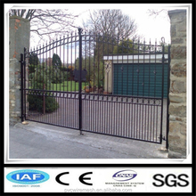 China Anping hepeng Hot dipped galvanized iron gate designs