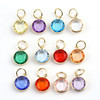 Alibaba Zodiac Dangle Jewelry Acrylic Birthstone