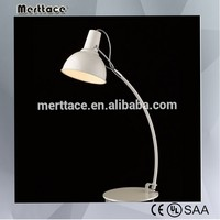 Zhongshan antique study metal table lamp for reading room lighting