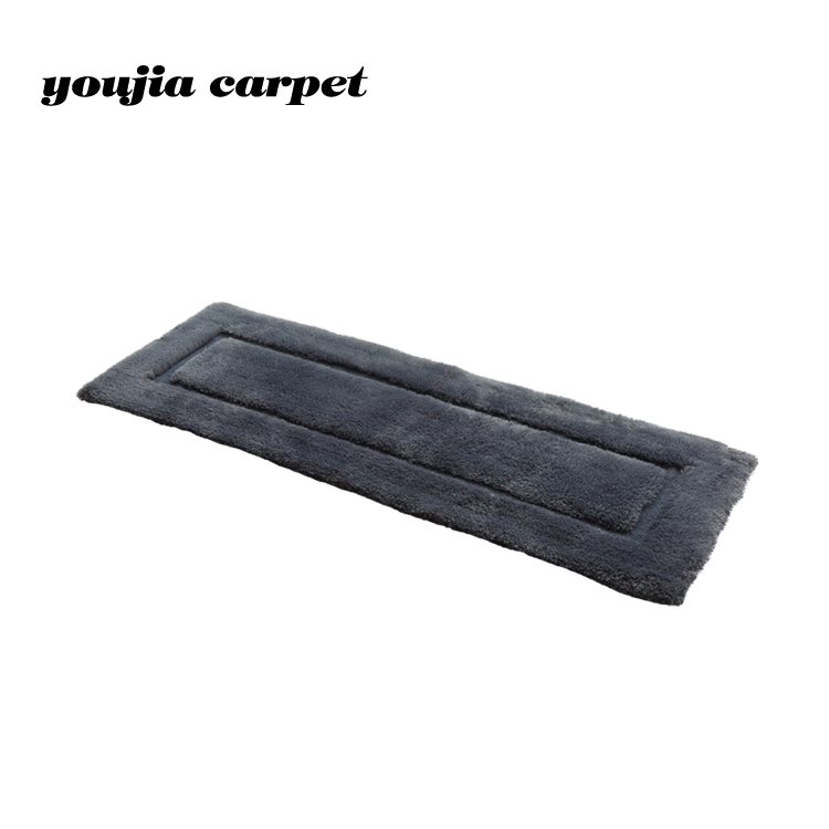 Rectangular 100% polyester hand tufted rugs for living room carpet