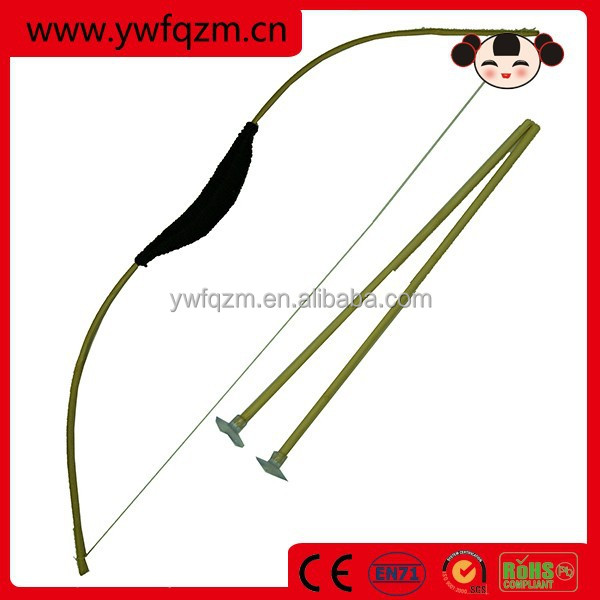Outside toys bamboo professional bow and arrow