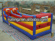 high quality inflatable basketbal game/bungee running