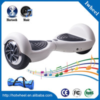 2016 top sale top 5 products balancing scooter with LED lights and bluetooth speaker frog eye good quality scooter 2 wheel car
