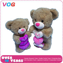 New design cheap custom wholesale plush bear toy stuffy toys gifts for mother's day