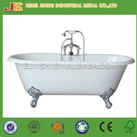 Soaking enamel cheap cast iron bathtub for sale