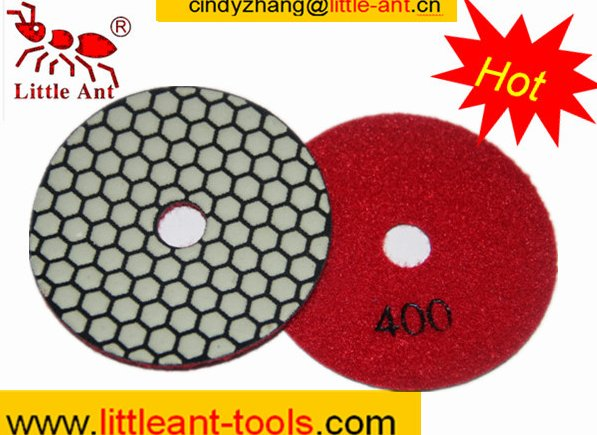 grinding concrete floor diamond disc velcro backed made by manufacturer