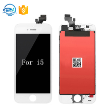 Guangzhou supplier original phone lcd replacement digitizer lcd touch screen for iphone 5 China mobile phone spare parts