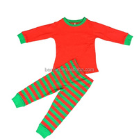 100 Cotton Girls Christmas Pajamas Sets