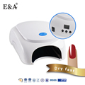 EA brand 2017 new arrival factory design 36w led nail lamps white smart definite time led nail lamp