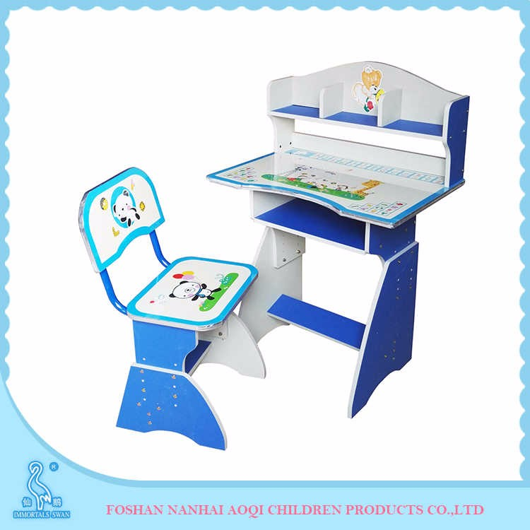 2070 Flakeboard And Pvc Cheap Kids Small Study Table And Chair