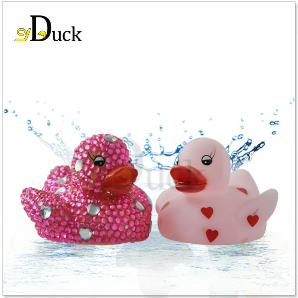 CE Certificated Colorful Promotion Cute Duck Toys