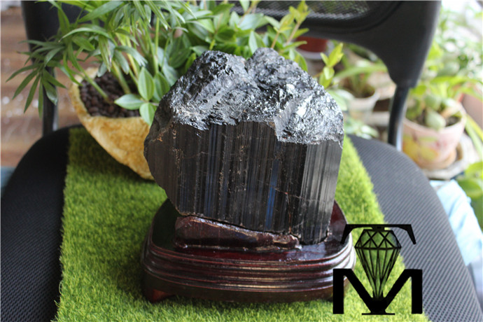 bulk cheap price natural black tourmaline rough stones for sale
