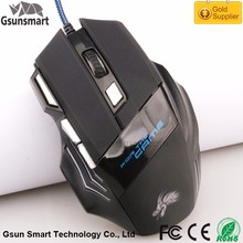 Best Sale GM-06 Wired Drivers USB 7D Gaming Mouse 3200dpi USB Optical Game Mouse