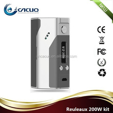 2015 New unique design high quality Reuleaux box mod 100% Original Wismec Reuleaux 200W TC vape mods box