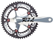 Fashionable mtb bicycle parts crankset with 39T/53T crank