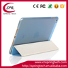 blue color case smart cover for ipad mini 4 PU folding sleeve Newest pad protective