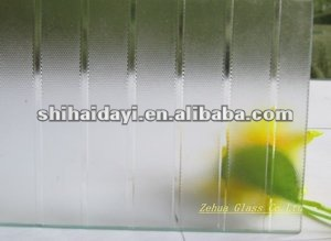 decorative acid etching glass