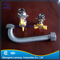 stainless steel natural gas meter line hose
