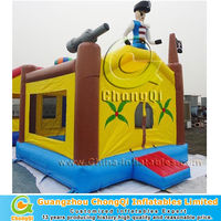 high quality inflatable pirate bounce