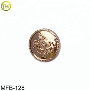 MFB128 China supplier Sewing Button Metal holes Button rivet Button for Garment