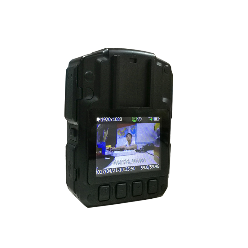 LS VISION 3G 4G Wifi Police Body Worn Camera Portable Waterproof With Built-in GPS 12 Hours Continuous Working Time