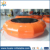 Huale best PVC orange inflatable water trampoline for kids and adults