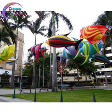 hot sale New Design Advertising inflatable Tropical Fish Model inflatable sea ocean animal