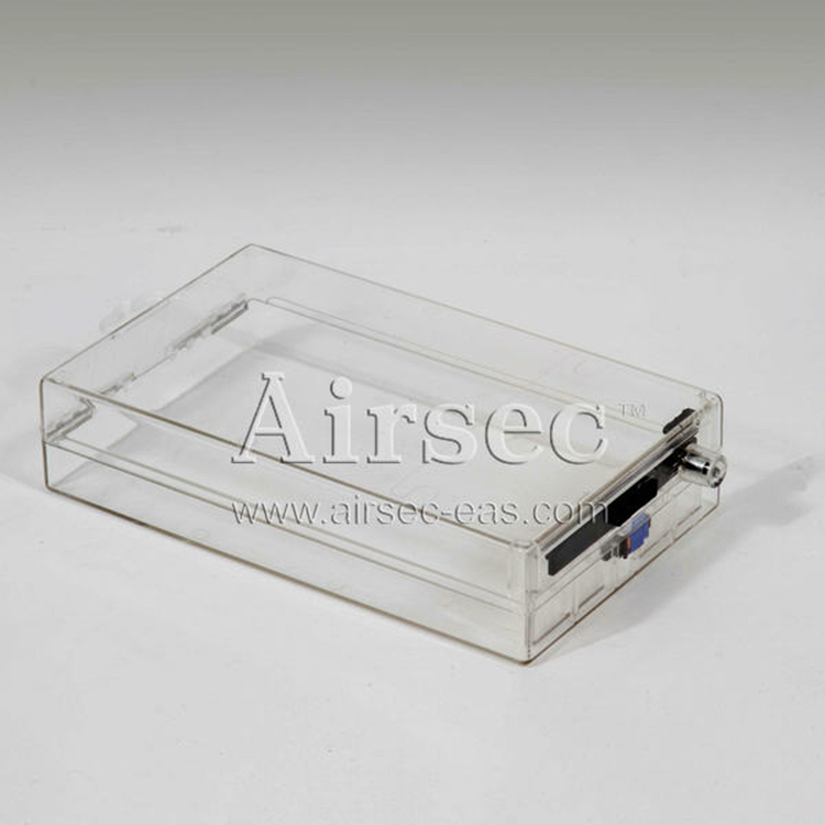 AIRSEC eas supermarket plastic box , plastic security lock box