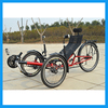 customized big capacity recumbent tricycle for heavy weight rider