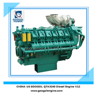 Googol Diesel Engine 1120kW 4 Stroke V12 Auto Engine Outboard