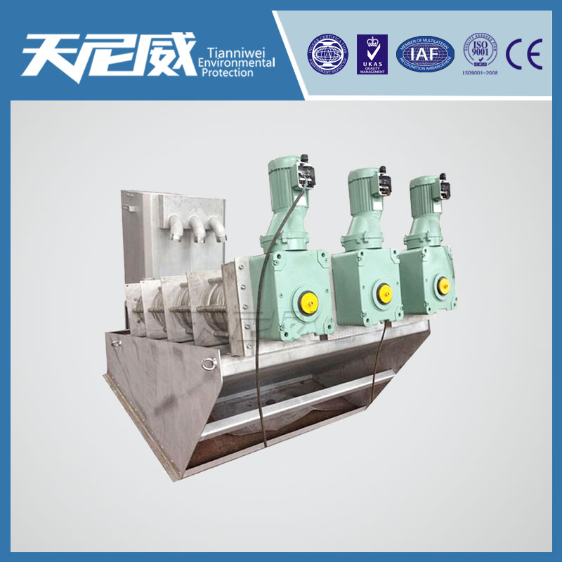 Sludge dewatering Odor treatment of sewage treatment plant