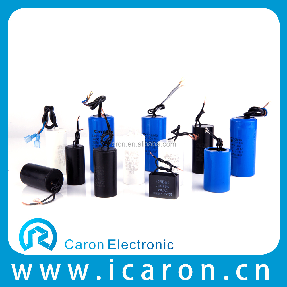 Chinese huizhong cbb60 capacitor 250v in washing machine