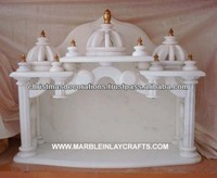 Super White Marble Mandir for Home Marble Indoor Temple