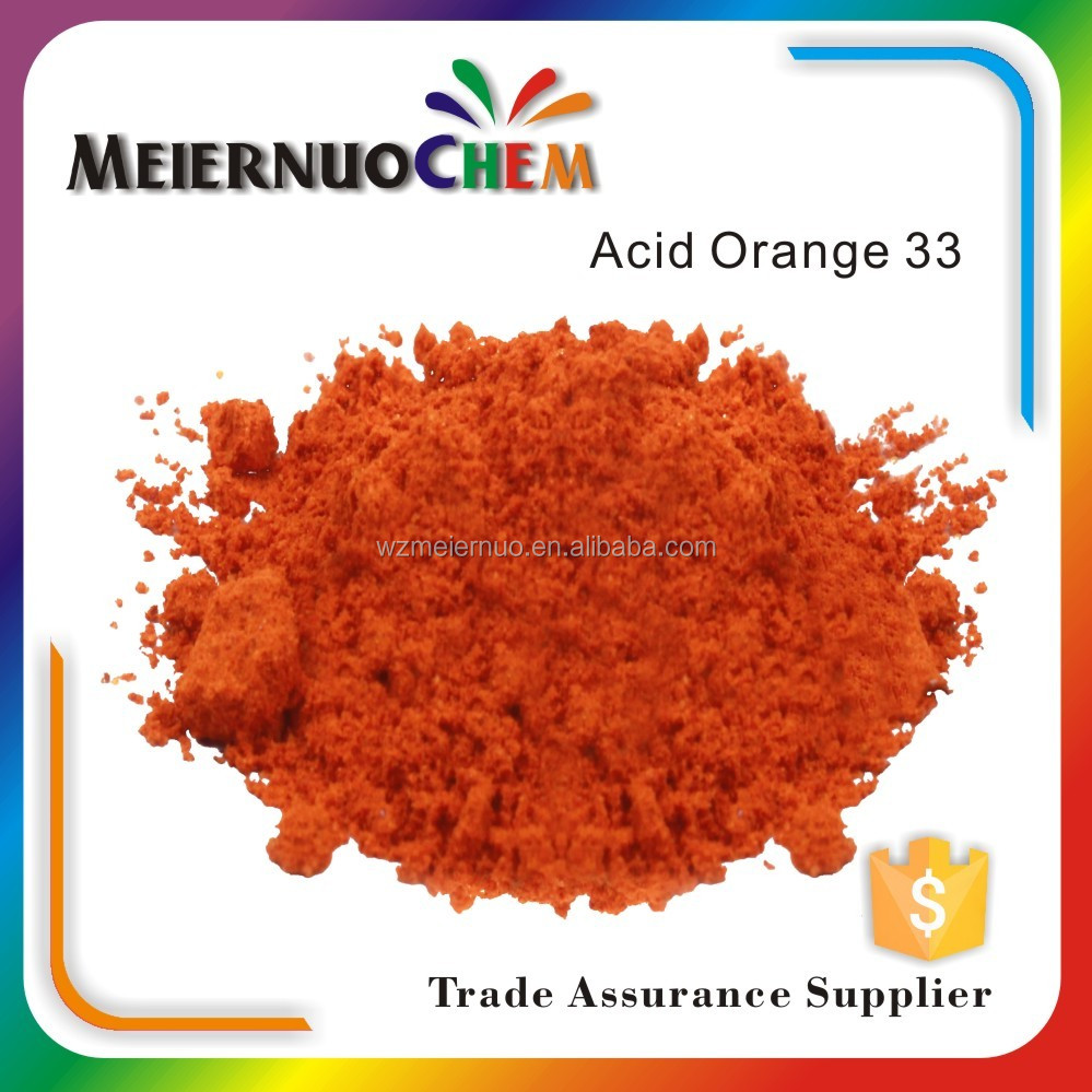 China Manufacturer Acid <strong>orange</strong> 33 for textile dyes