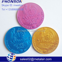Cheap Anodized Aluminum Coin Coloful Metal