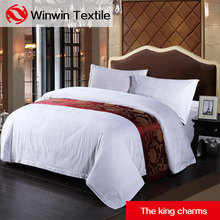 Hotel bedding set bed sheet pure cotton home quilt bed cover cotton linen