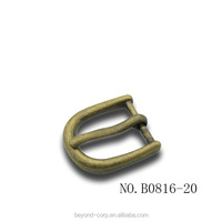 20mm antique brass mini pin buckle for women belt