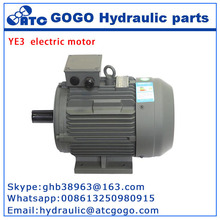 YE3 series 3kw 3 phase ac electric motor horizontal motor
