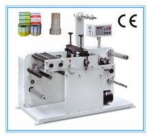 TXY-320 high quality rotary adhesive label trademark die-cutter machine with slitting cheap price