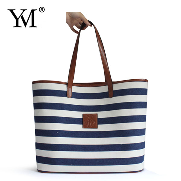 fashion ladies Casual guangzhou make your own canvas tote bag wholesale woman handbag