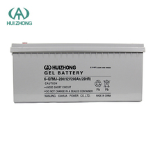 Durable good quality deep cycle solar battery 12v 200ah for inverter