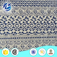 Indonesia cotton nylon george lace fabric for women dress