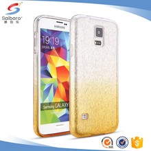 Latest high quality TPU+PC Glitter Paper for Samsung galaxy S5 case back cover