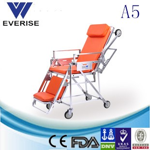 Automatic loading stretcher;first-aid device;medical equipment;ambulance modifacation; safety belts for ambulance stretchers