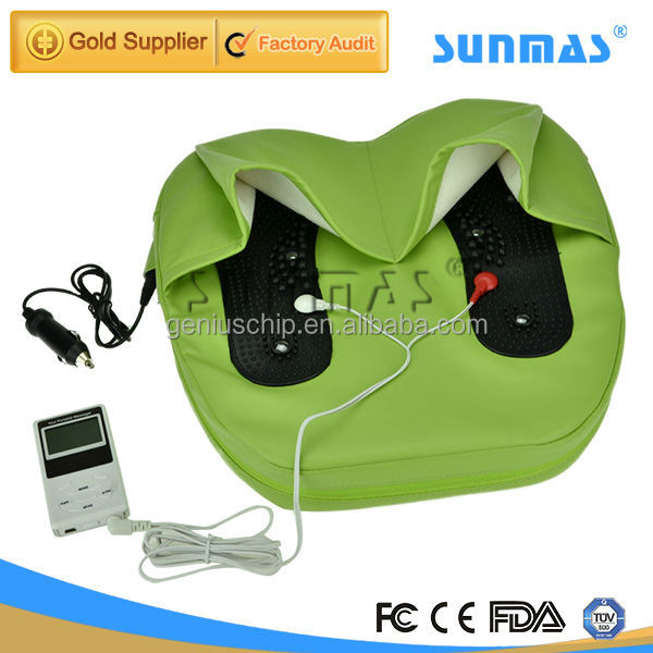 MP4 pain relief massager manufacture jade foam Fibromyalgia customized