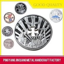 2015 High Quality Custom Metal Great Wall Of China Coin