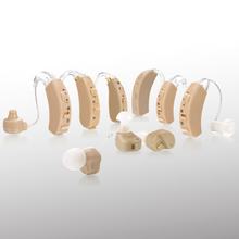 Manufacture Types of BTE Hearing Aid Ear Aid for Hearing Impaired