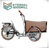 High quality electric cargo bike for family used becak bike/cargo bicycle/electric tricycle/3 wheel tricycle/bike/childUB9032E
