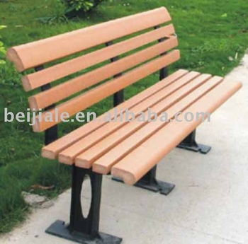 Outdoor Community Wooden Benches