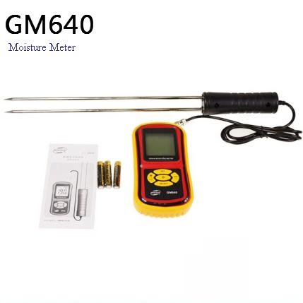 High Quality Digital Grain Moisture Meter with LCD Display